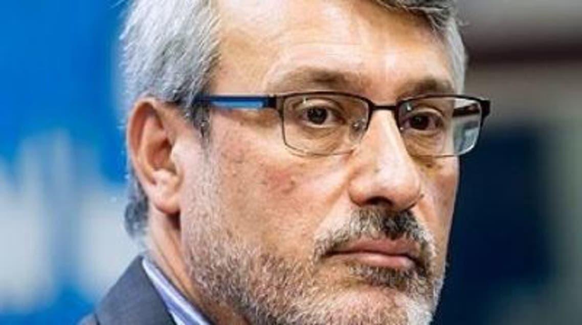 Iran ambassador to UK Hamid Baeidinejad. (Twitter)