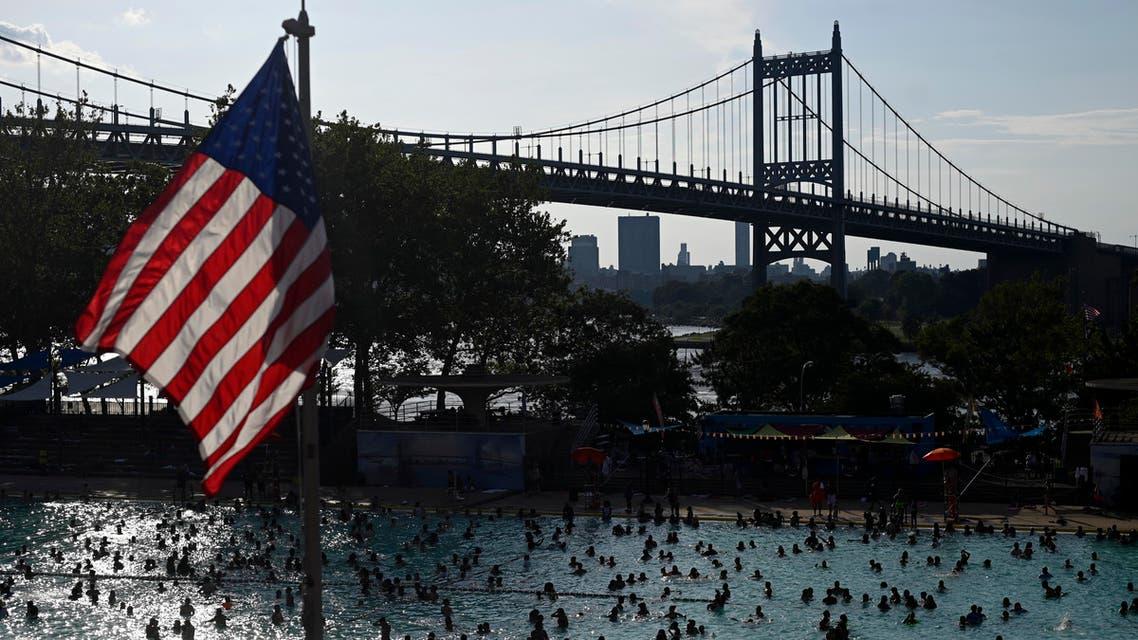 US heatwave - AFP