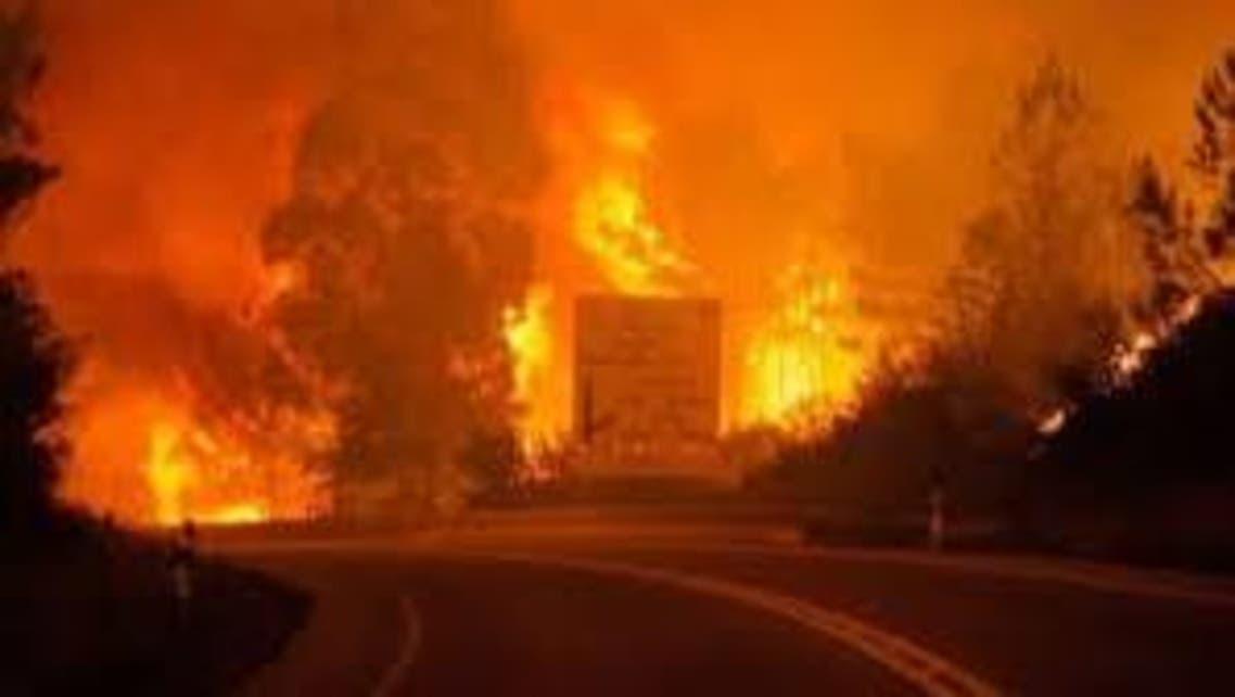 حرائق البرتغال