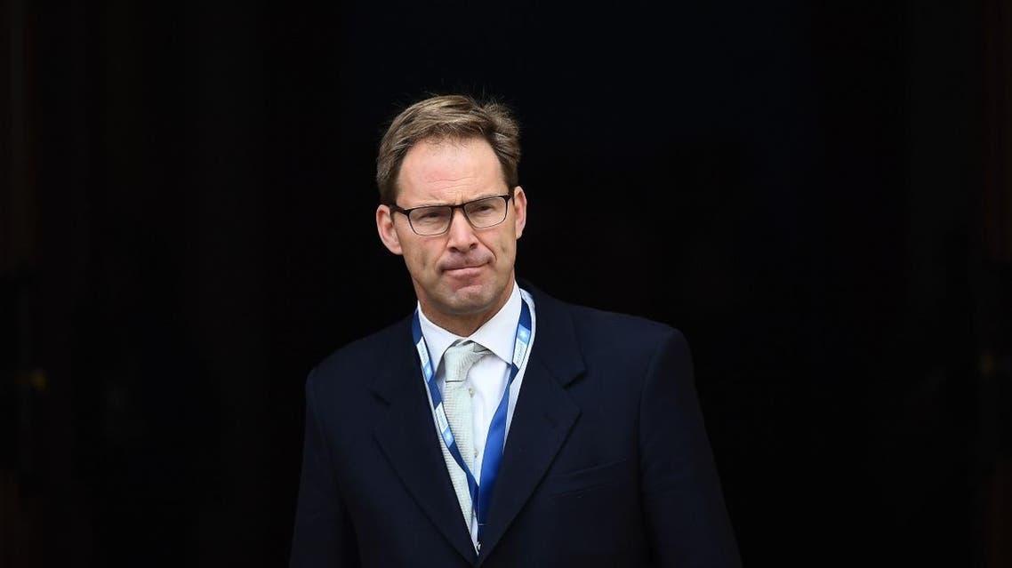 Junior UK defense minister Tobias Ellwood. (AFP)