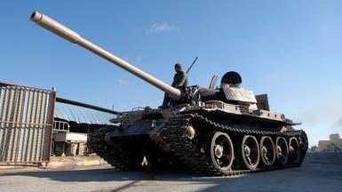 الجيش الليبي يسقط مسيرة تركية جنوب طرابلس