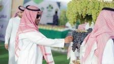 تصاویر: 'انگوروں کے گچھوں' سے القصیم کا آسماں سج گیا