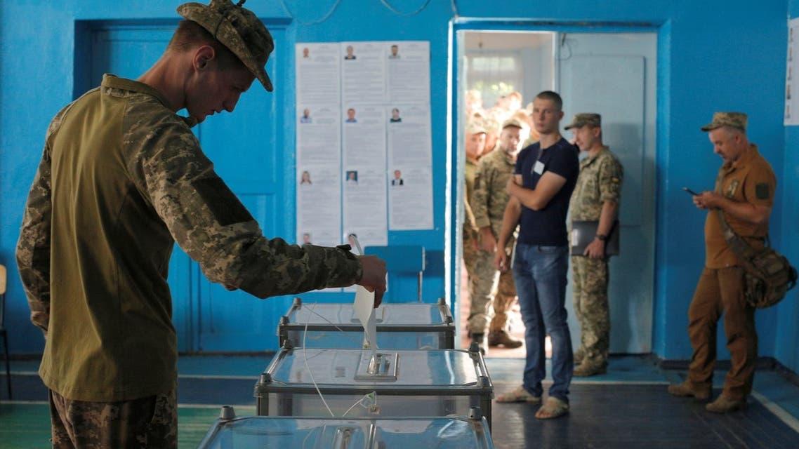 انتخابات أوكرانيا