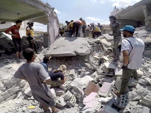 """سوريا.. مقتل 6 مدنيين بغارات على منطقة """"خفض التصعيد"""""""