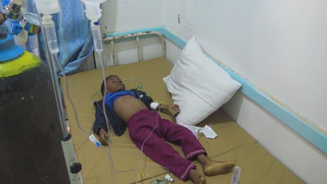 قصة الطفل ابراهيم.. آخر ضحايا الكوليرا في اليمن