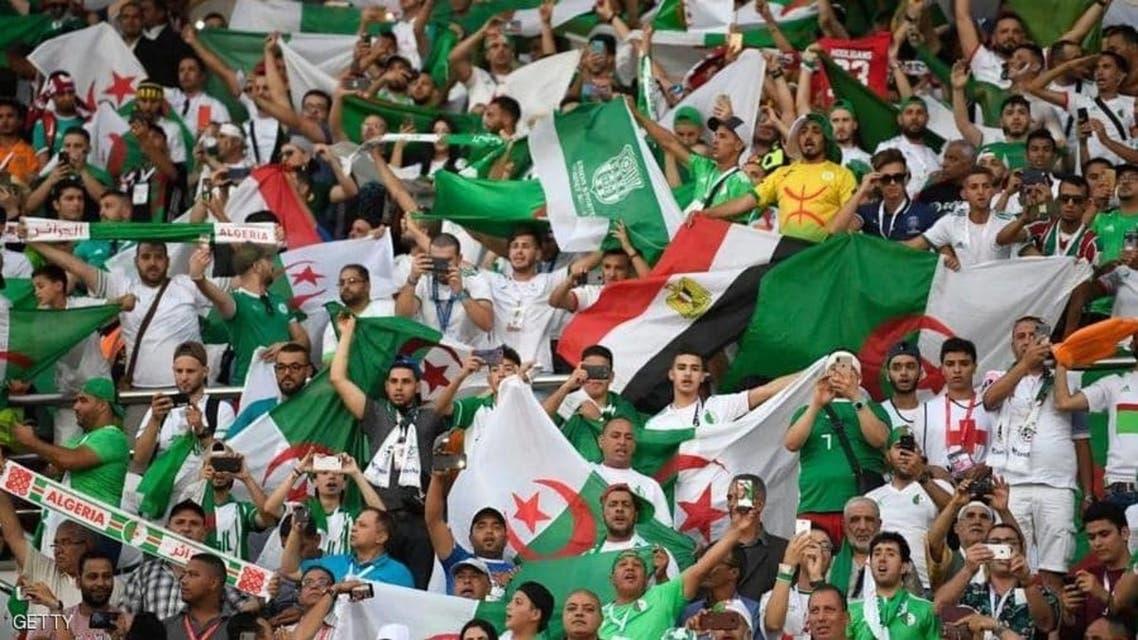 هواداران تیم ملی فوتبال الجزائر با 39 هواپیما به خانه بازگشتند