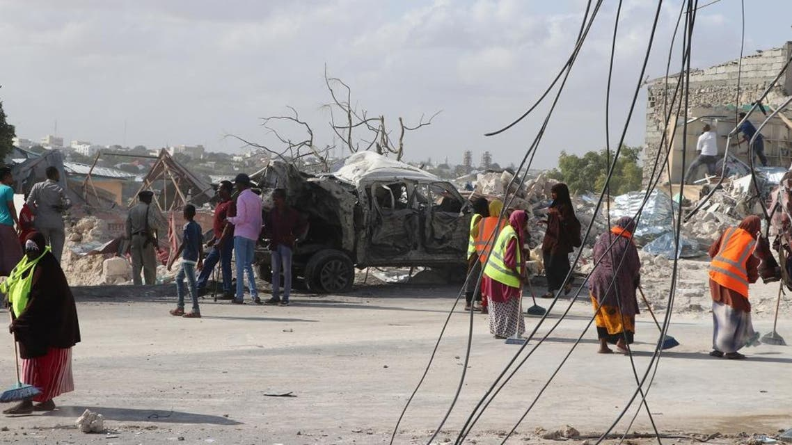 The explosion was claimed by al-Shabaab militants. (File photo: AFP)