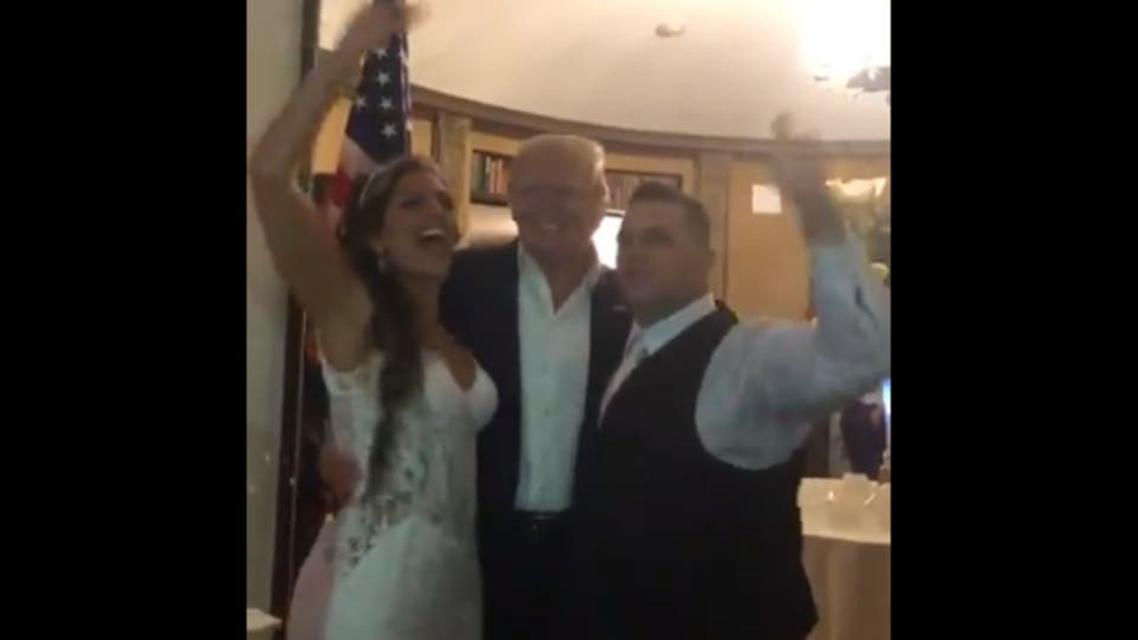 ٹرمپ کی شادی میں شرکت