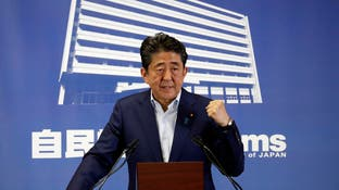 """رئيس وزراء اليابان يطرح خيار """"تأجيل"""" الأولمبياد"""