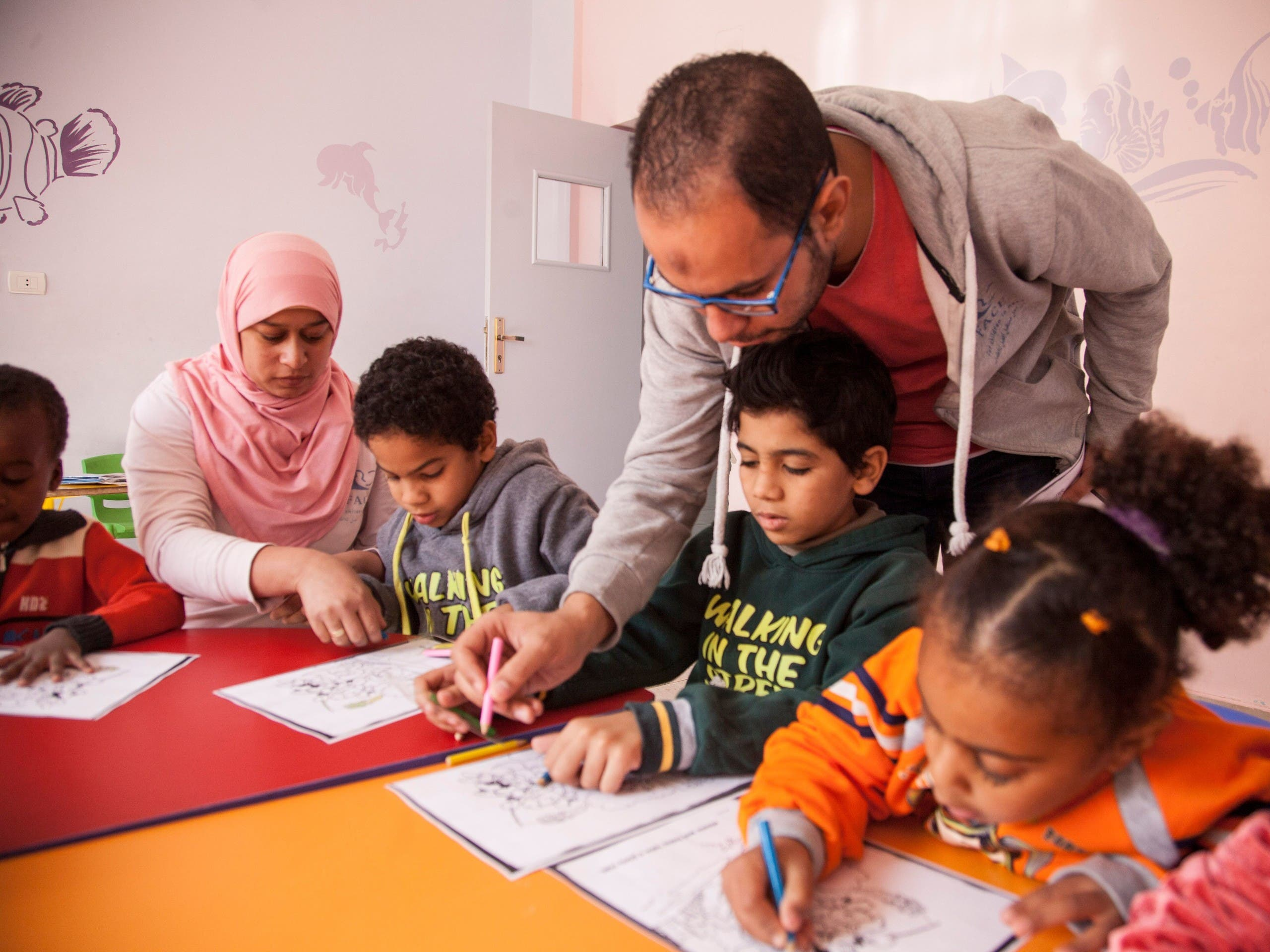 Egypt: How belgium lady help egyption kids for education