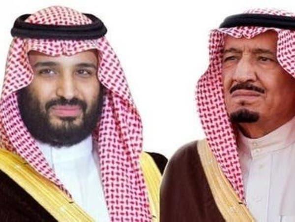 الملك سلمان وولي العهد يواسيان السيسي في ضحايا الإرهاب