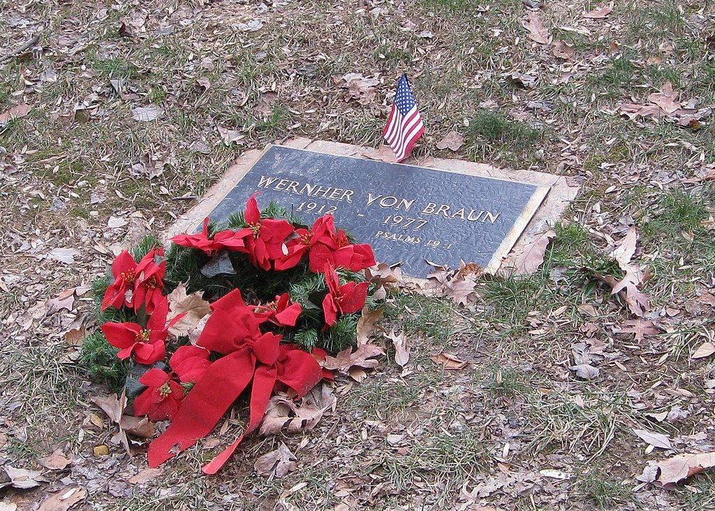 قبر فيرنر فون براون