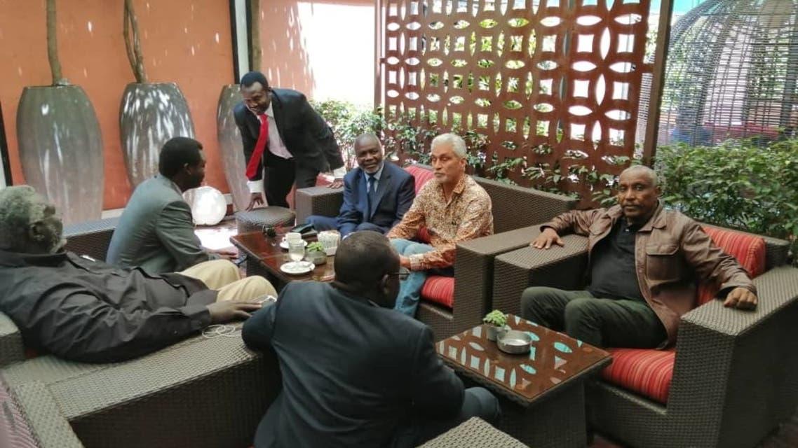 اجتماعات بين قوى الحرية والتغيير والثورية في اثيوبيا أديس أبابا السودان