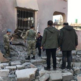 إصابة 5 أشخاص جراء قذيفتين أطلقتا من سوريا على بلدة تركية