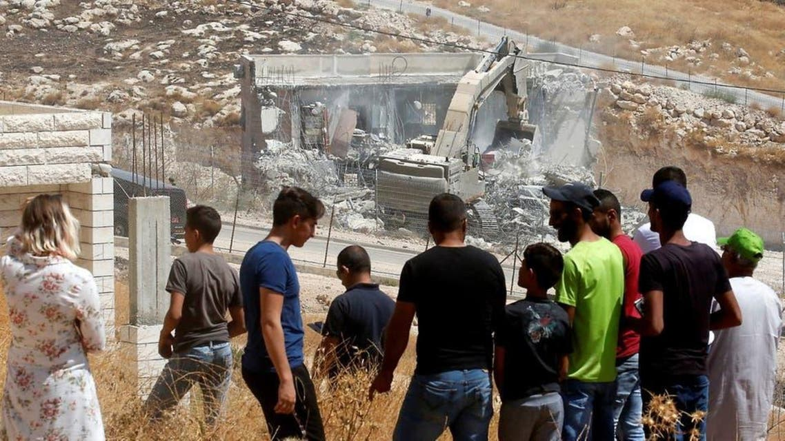 Homes demolished by Israel in alquds