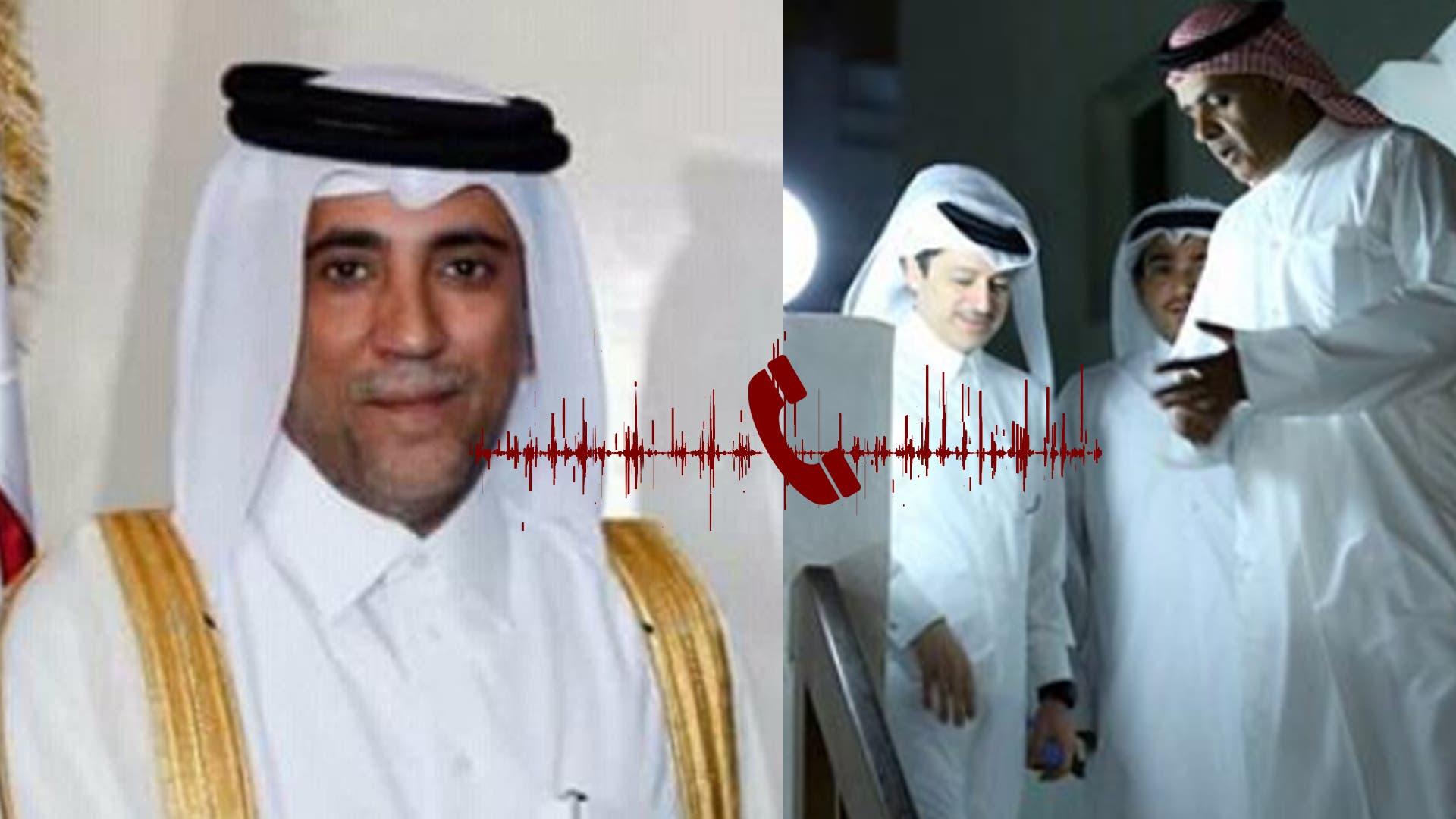 رجل أعمال مقرب من أمير قطر في مكالمة سرية