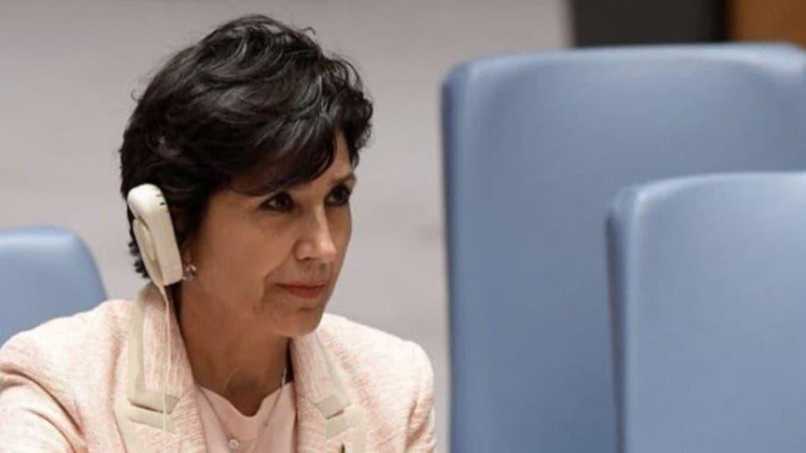 اقوام متحدہ میں لبنان کی سفیر امل مدللی