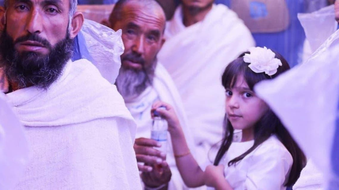 KSA: Saudi kids welcom the Pilgrims