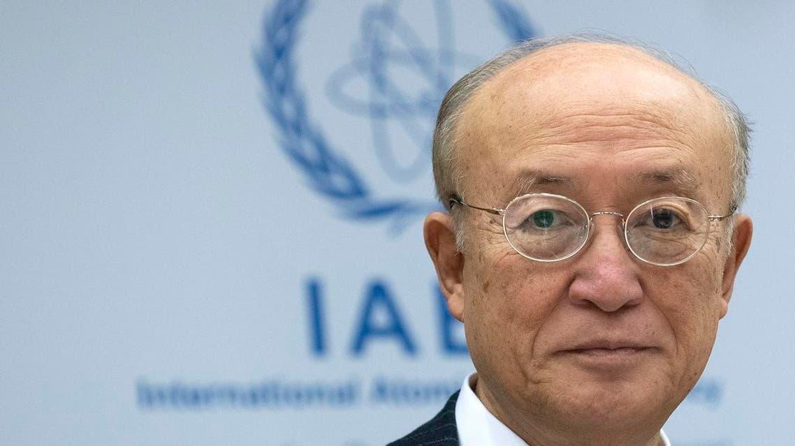 File photo of Yukiya Amano, director general of the International Atomic Energy Agency (IAEA), who died last week. (AFP)