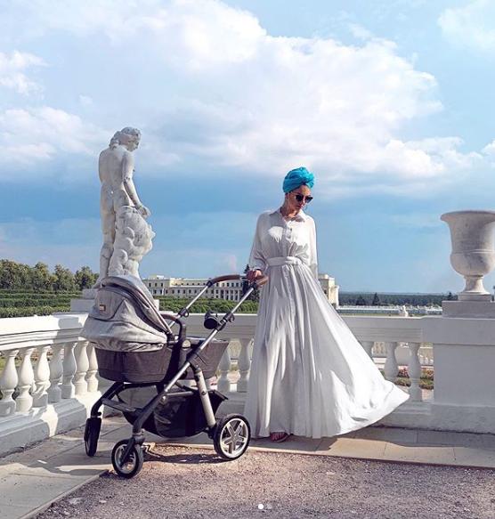 صورة نشرتها ريهانا أوكسانا غورباتنكو على حسابها في انستغرام