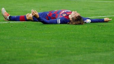 أتلتيكو يطلب منع تسجيل غريزمان مع برشلونة
