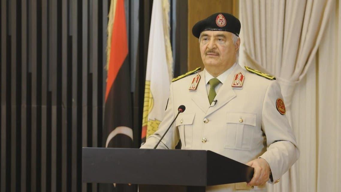 حفتر: سنرفع راية النصر في قلب طرابلس قريبا