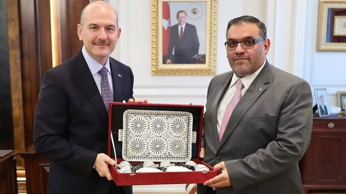 العبدة ووزير الداخلية التركي