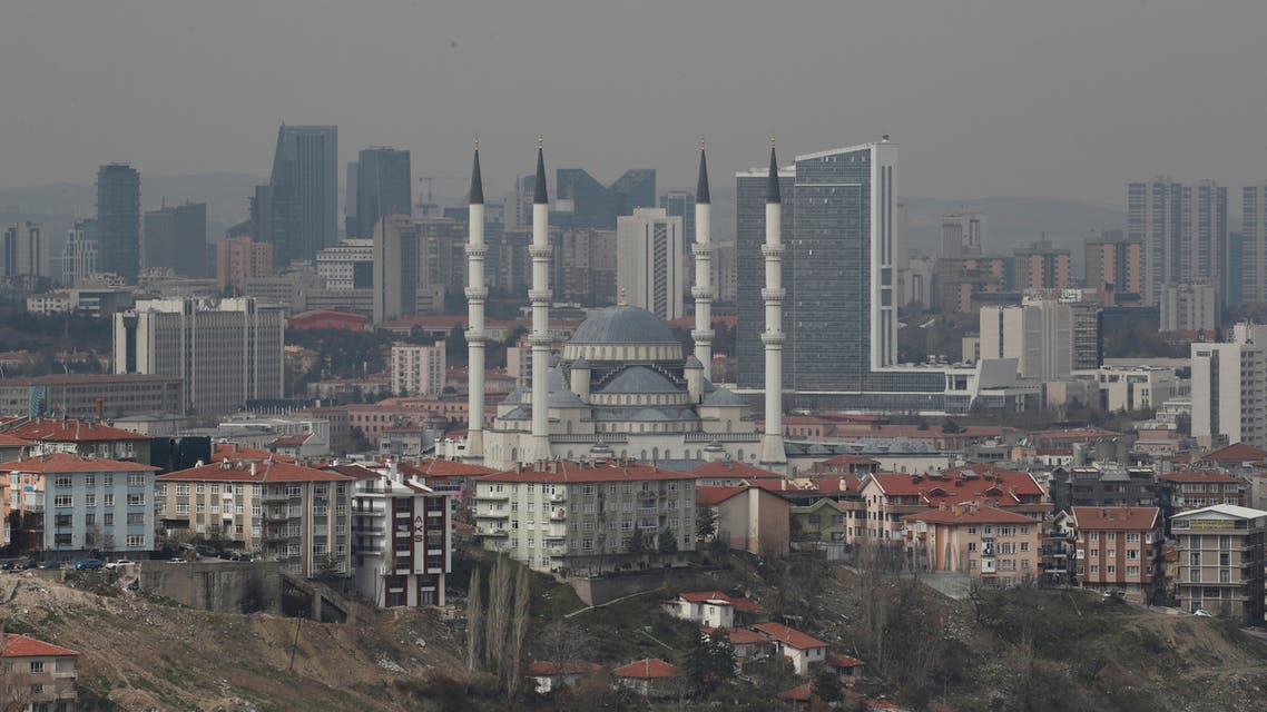FILE PHOTO: A general view of residential and commercial areas in Ankara, Turkey, April 1, 2019. REUTERS/Umit Bektas/File Photo