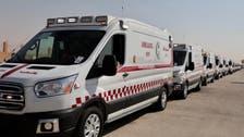 الهلال الأحمر يجهز للحج 125 مركزاً إسعافياً و370 سيارة