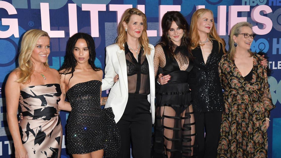 cast of HBO big little lies (AFP)
