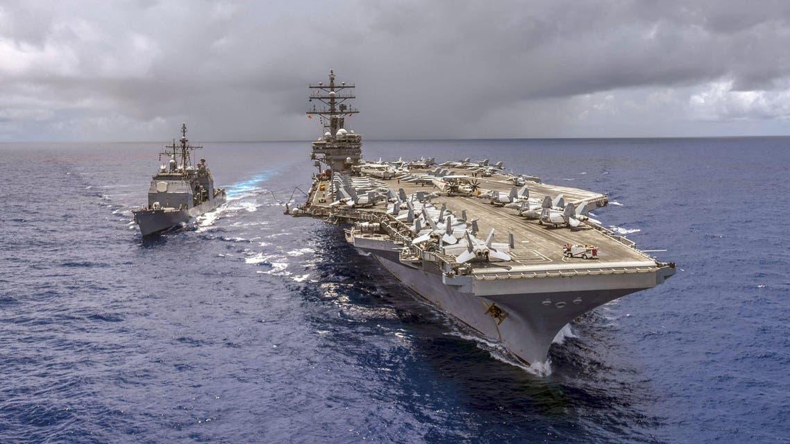 US warship Antietam (AFP)