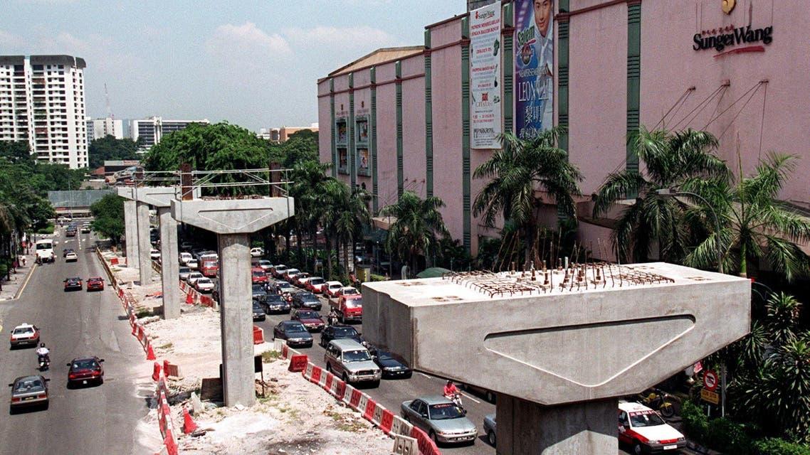 malaysia railway project (AFP)