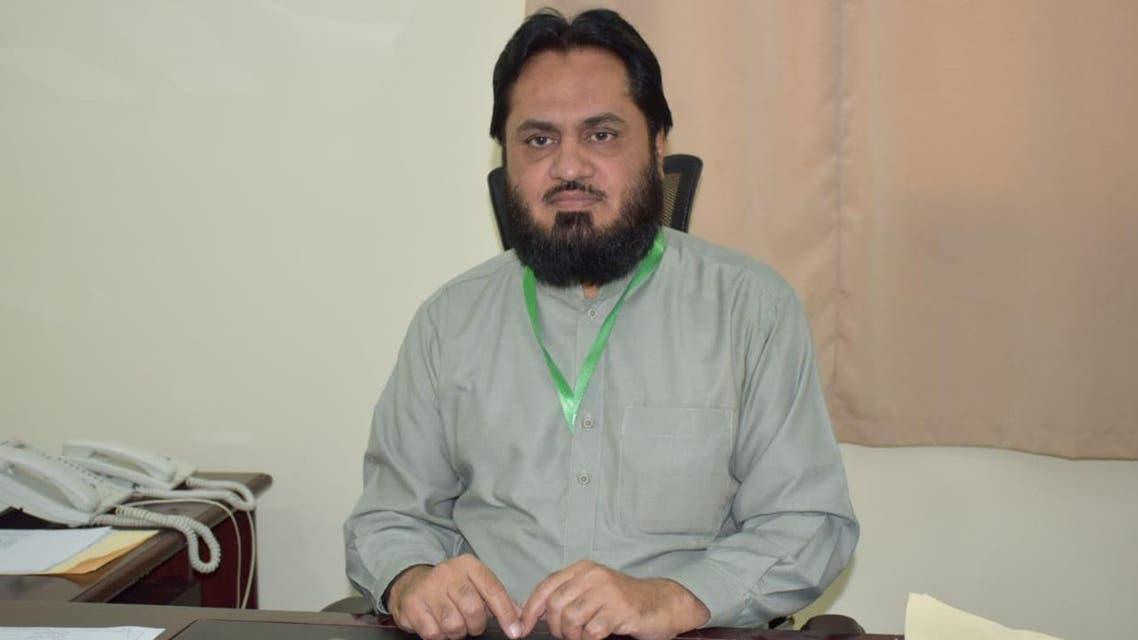 مکہ مکرمہ میں پاکستان حج مشن میں تعینات ڈائریکٹر حج برائے رابطہ اور سہولت کاری سیّد مشاہد حسین خالد