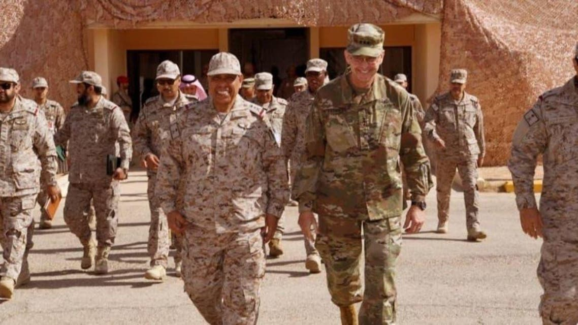 USA and KSA militry exercise