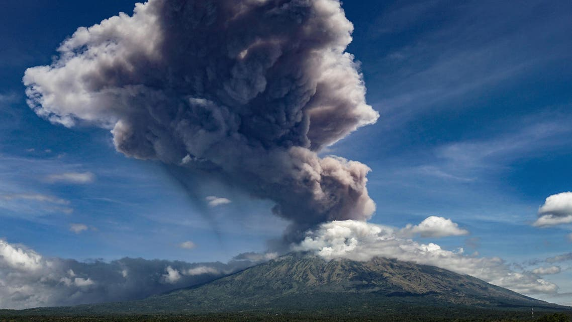 indonesia volcano (file photo: AFP)