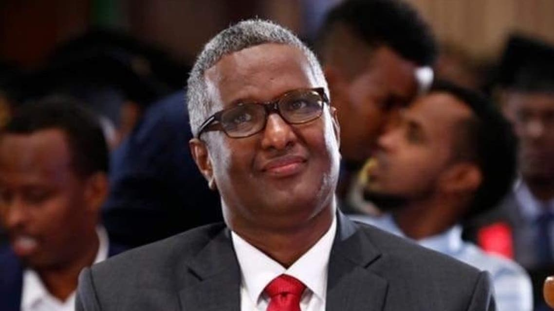 رئيس حزب صومالي معارض