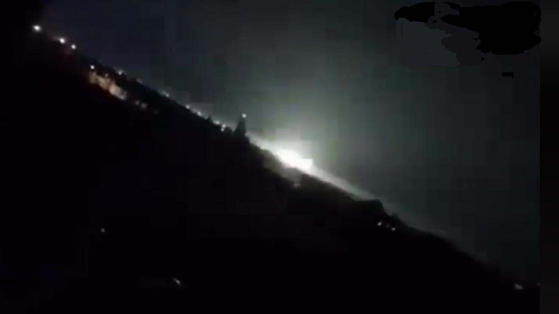 LNA air strikes on GNA posts in Misrata, 27 July, 2019. (Al Marsad)