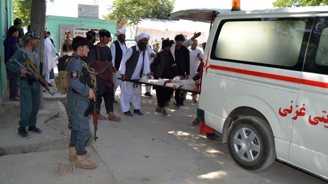 حمله انتحاری در غزنی چهار کشته و 20 زخمی برجای گذاشت