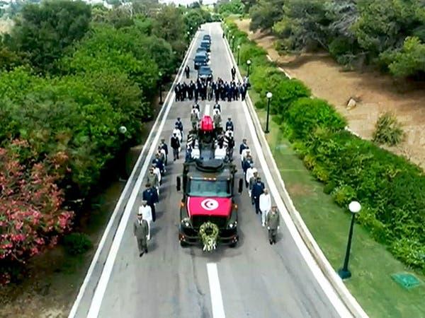 بدء مراسم تشييع الرئيس التونسي الباجي قايد السبسي