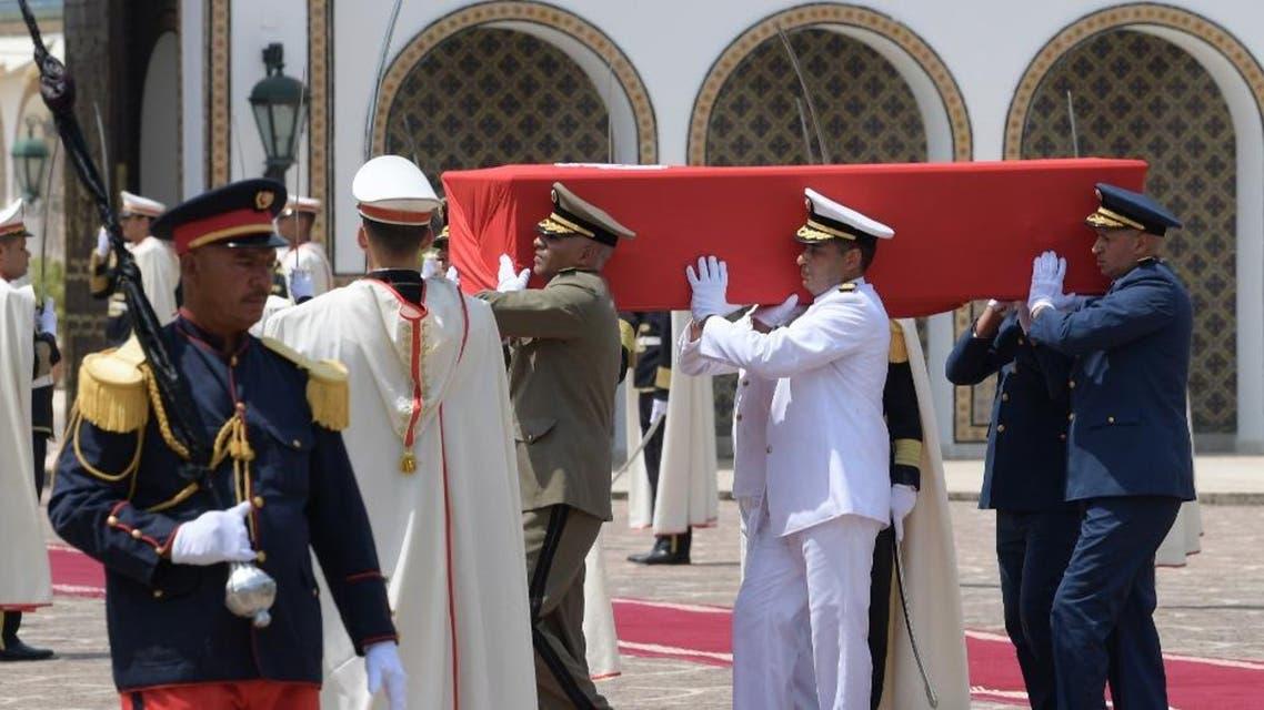 Beji Caid Essebsi funeral AFP