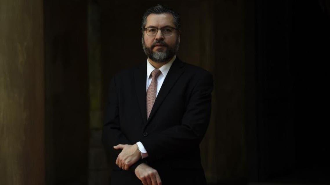 Ernesto Araujo - Brazil FM - AFP