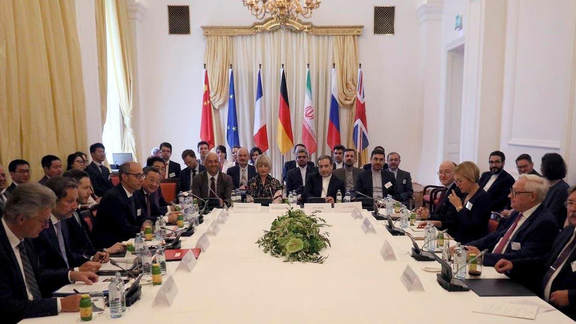 Iran nuclear deal Vienna meeting (AP)