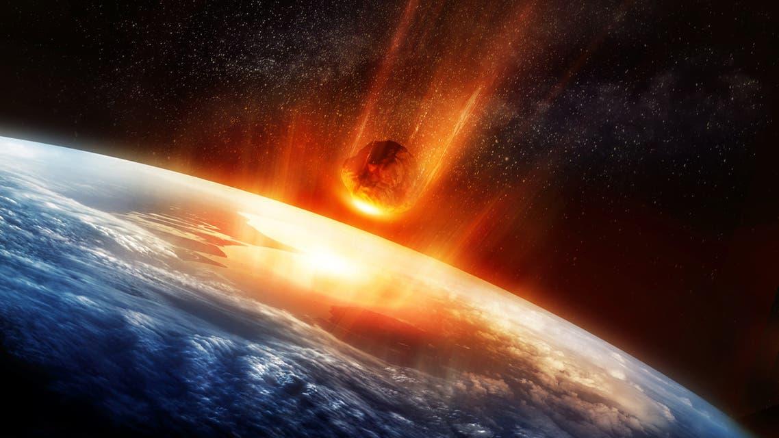 كويكب يضرب الأرض Meteor And Earth