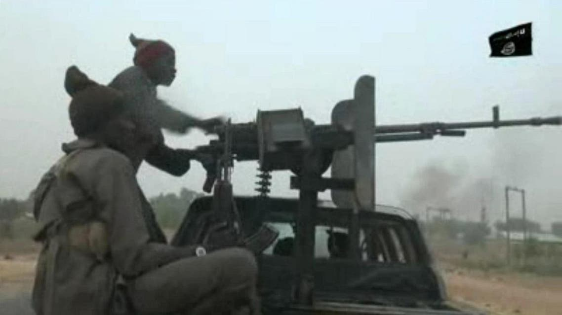 This screen grab image taken on January 2, 2018 from a video released by Boko Haram shows their fighters during a Christmas Day attack on a military checkpoint in Molai village on the outskirts of the northeast Nigerian city of Maiduguri. (File photo: AFP)