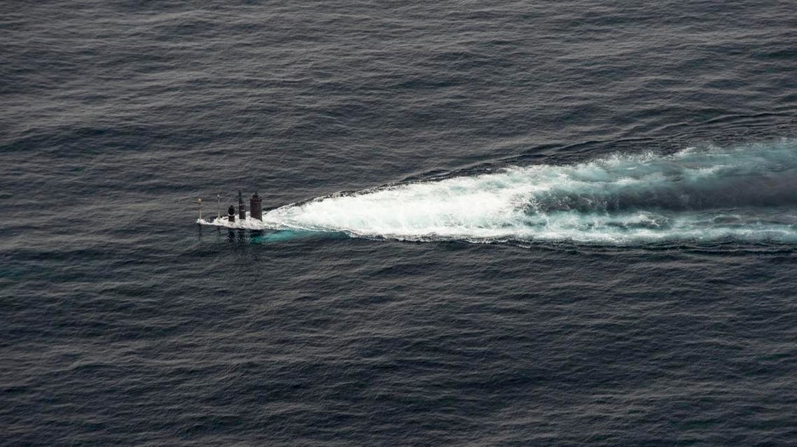 In this September 26, 2016 US Navy handout photo, Republic of Korea Navy (ROKN) submarine maneuvers during a combined maritime operation in the waters East of the Korean Peninsula. (AFP)