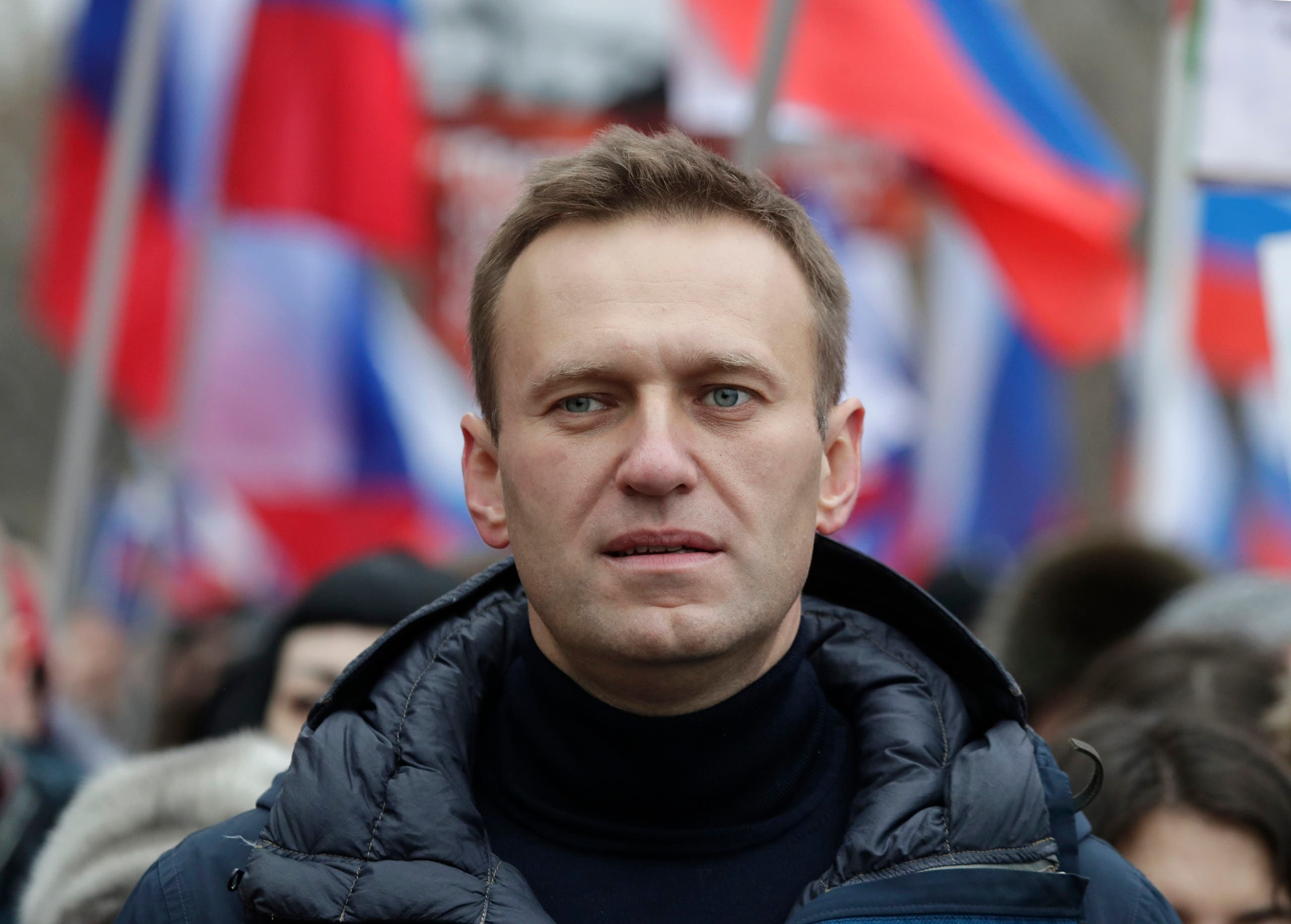 Russian opposition leader Alexei Navalny. (AP)