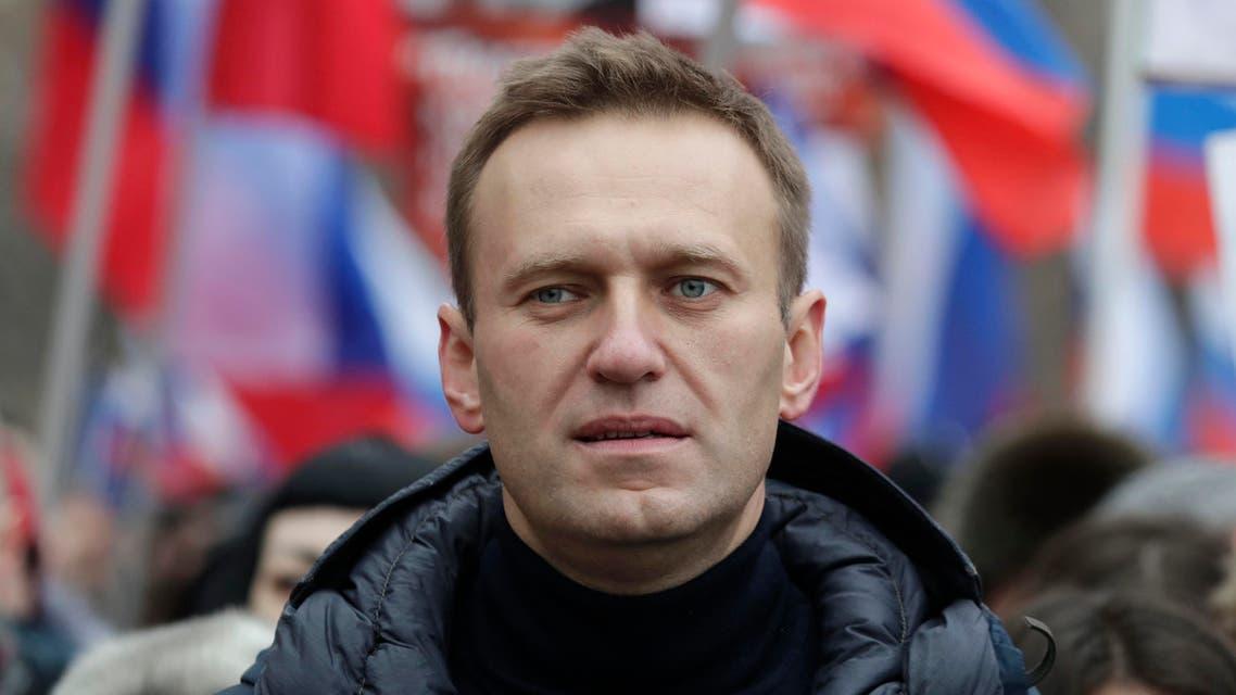 Russian opposition leader Alexei Navalny (AP)
