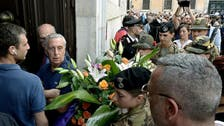 Italians pay homage to slain police officer
