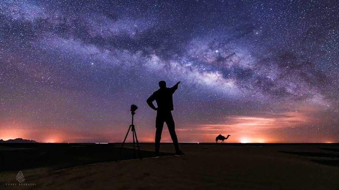 saudi photographer captured a magic of Night