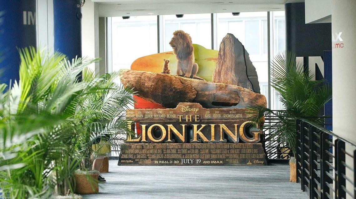 """IMAX private screening for the movie """"The Lion King"""" at AMC Loews Lincoln Square theatre on July 17, 2019 in New York City. (AFP)"""